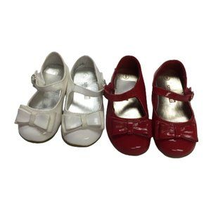 Smart  Fit Size 5 & Size 6 Shoes with Bow Tie